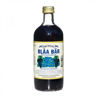 Brunneby Blaa bar (Blue Berries) Drink Concentrate - Short Date Sale