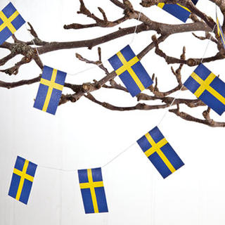 Flag Garland - Sweden