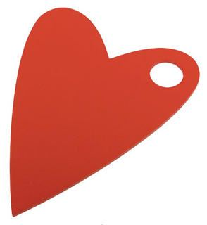 Trivet (Pot Stand) - Red Heart