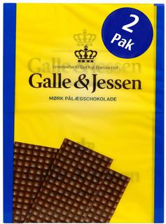 Galle&Jessen Pålægschokolade mørk - Dark Chocolate Topping - short date sale