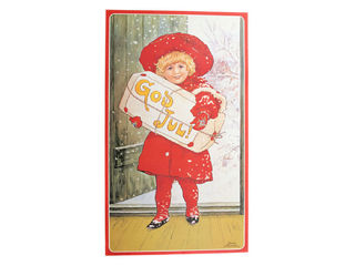 Christmas print - God Jul Girl (Jenny Nystrom)