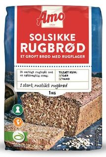 AMO Solsikkerugbrød - Sunseed Rye Bread Mix