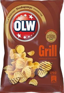 OLW Grillchips - BBQ Chips