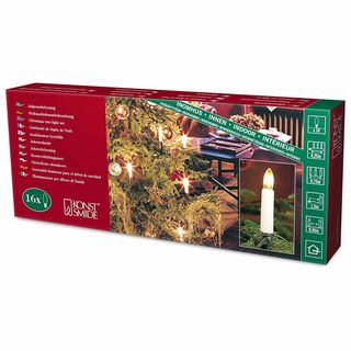 Julgransbelysning - electrical christmas candle light set