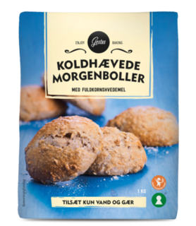 Gestus koldhævede morgenboller mix - wholemeal bread mix - Short Date Sale