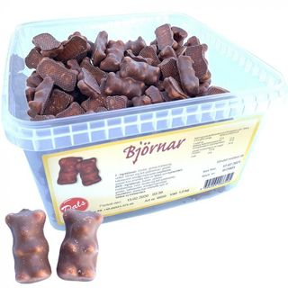 Dals Björnar - Chocolate covered marshmallow bears  LV