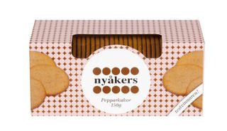 Nyåkers Ginger Snaps