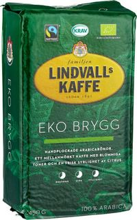 Lindvalls Coffee - Brygg - EKO Fair Trade - short date sale