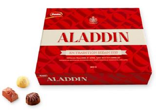 Aladdin Chocolate Box - short date sale