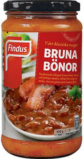 Bruna Bönor - Baked brown beans - short date sale