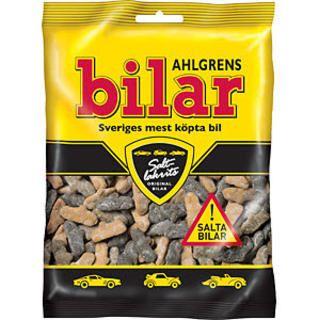 Ahlgrens Bilar Cars - salty liqurice - short date sale - 10/04/2019