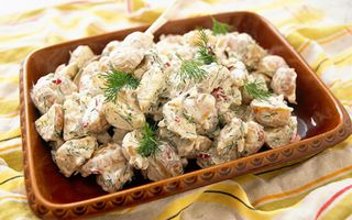 Potato Salad with Head Waiter Sauce