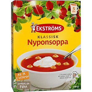 Nyponsoppa - Rosehip Soup - 5litre