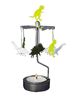 Dino - rotary tealight candle holder