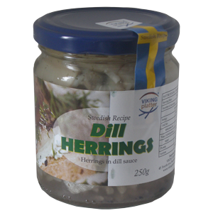 VP Dill Herring - 250g - short date sale 18/4/2017