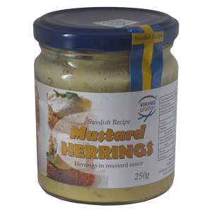 VP Mustard Herrings - 250g - Short Date Sale
