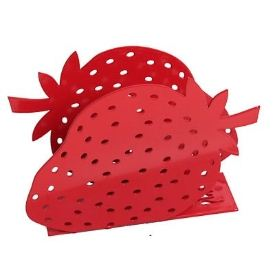 Napkin Holder - Strawberry