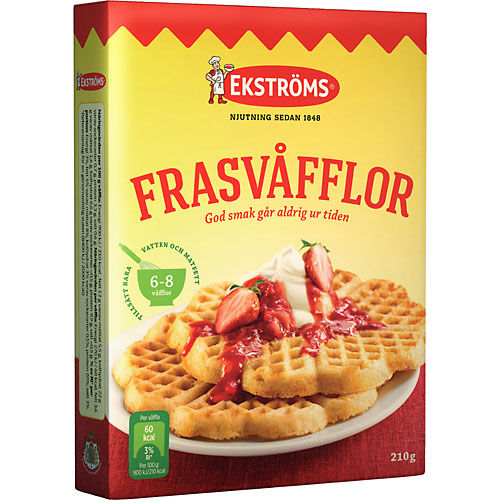 Ekstoms Waffles - Frasvåfflor mix