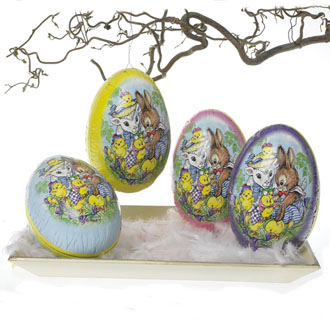Easter Egg Sheep & Bunny - 12cm
