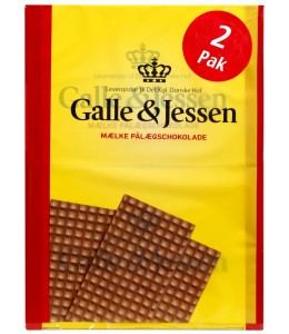 Galle&Jessen Pålægschokolade Mælk - Milk Chocolate Topping - short date sale