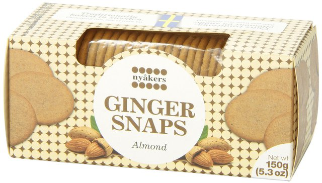 Nyåkers Ginger snaps - Almond Short Date Sale