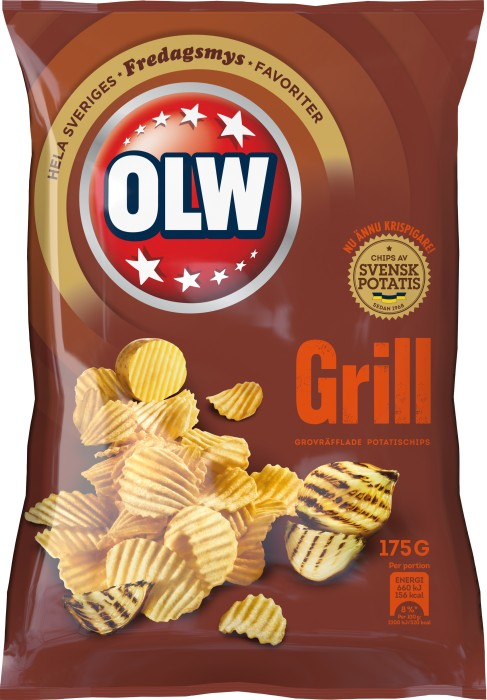 OLW Grillchips - BBQ Chips - Short Date Sale