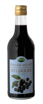 Rynkeby Sød Hyldebærsaft - Elderberry Drink Concentrate