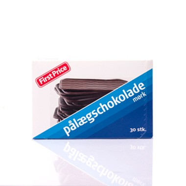 First Price Pålægschokolade Mørk - Dark Chocolate Topping