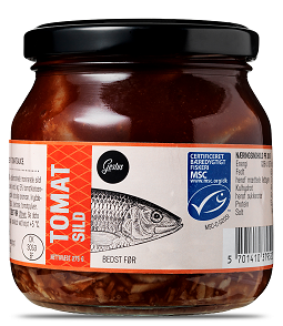 Gestus Tomat Sild - Tomato pickled herring