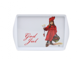 Christmas Tray - Carl Larsson Flicka - small