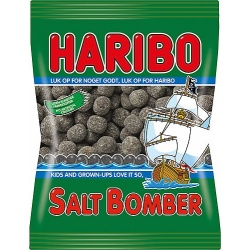 Haribo Salta Bomber (Salty Bombs) bag