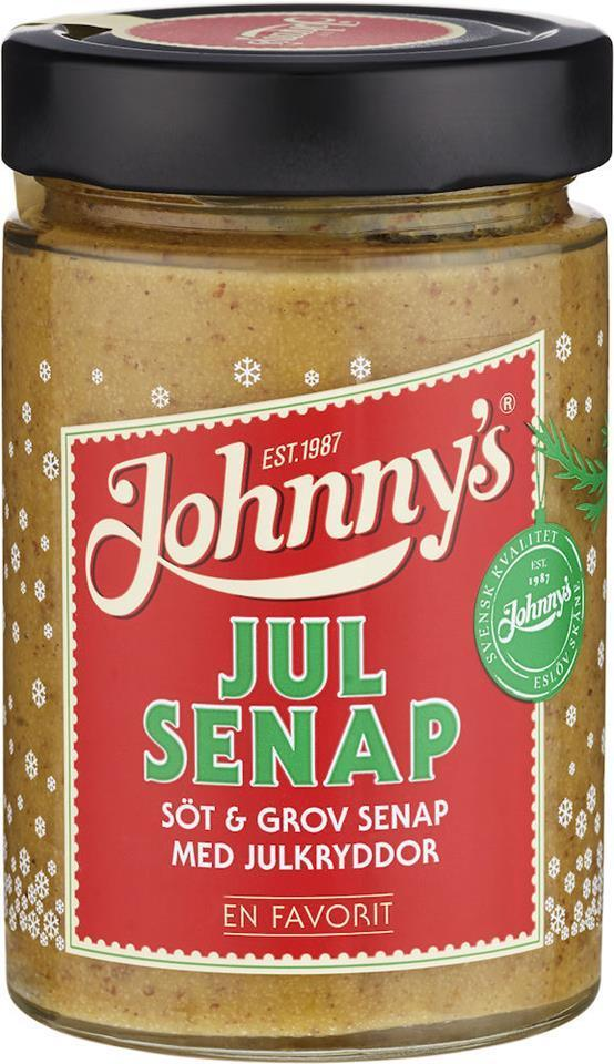Johnnys Julsenap - Sweet Mustard with Xmas spices