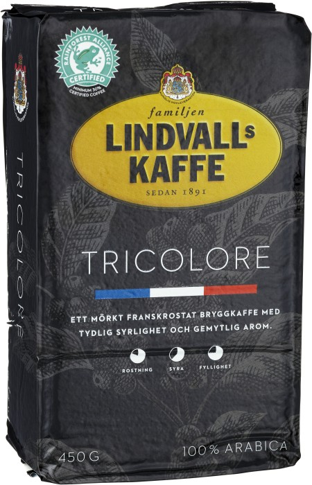 Lindvalls Coffee - Tricolore - French Roast - short date sale