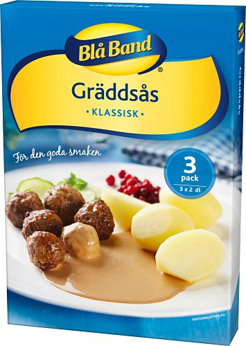 Blå band Gräddsås - Scandinavian Cream Sauce - 3pack
