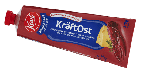Kavli Softspread Cheese with Crayfish