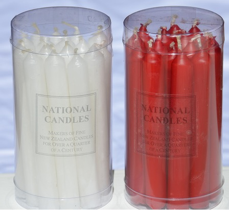 Christmas Candles 12x110mm