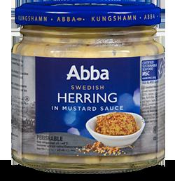 Abba Senap Sill - Mustard Herring - Short Date Sale - 8/9/2018