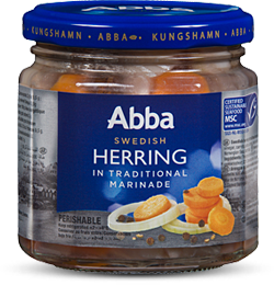 Abba Inlagd Sill - Traditional Marinade Herring MSC