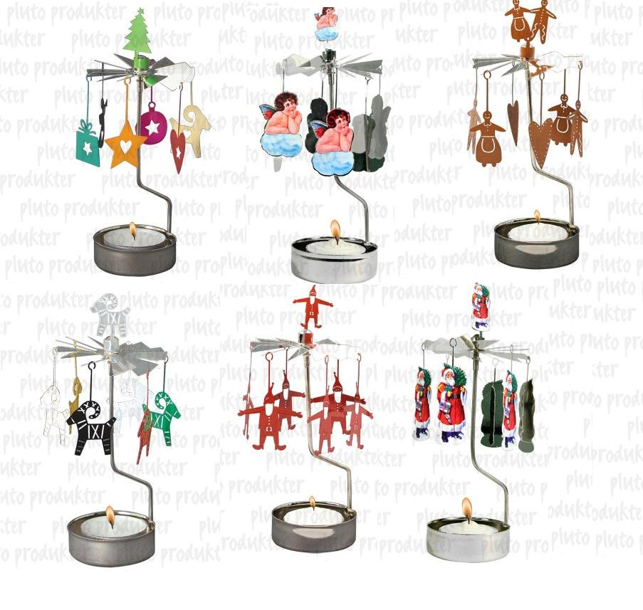 Christmas Rotary Candle holders