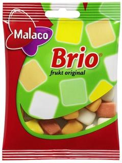 BRIO Frukt - Fruit flavoured chewy dragees